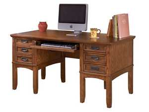 Signature Design By Ashley H319-26 Cross Island 60-Inch Home Office Desk