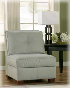 Signature Design By Ashley 6700146 Collins Spa Armless Chair