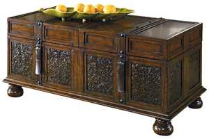 Signature Design By Ashley T753-20 McKenna Cocktail Table With Storage