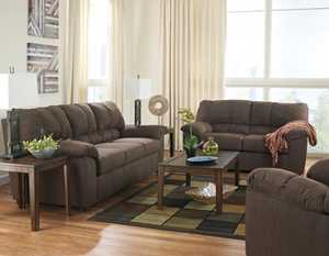 Signature Design By Ashley 4340025/35/38 Zyler Coffee Sofa, Loveseat And Recliner Set