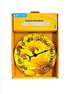 Headwind 840-0008 Dial Thermometer Sunflower 8 in