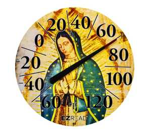 Headwind 840-1239 Dial Thermometer Our Lady Of Guadalupe 12.5 in