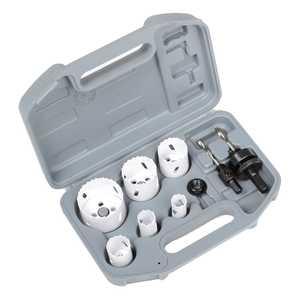 ATE Pro Tools 32018 Bi-Metal Hole Saw Kit 9-Piece