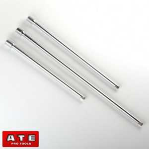 ATE Pro Tools 93328 3/8-Inch Drive Long Extension Bar Set 3-Piece
