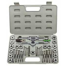 ATE Pro Tools 50010 Tap & Die Sae Set 40-Piece