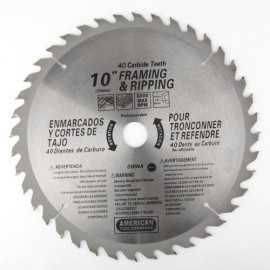 ATE Pro Tools 32034 10-Inch X 40-Tooth Carbide Saw Blade