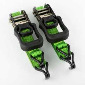 ATE Pro Tools 33066 1-1/4 x 16-Inch Ratchet Tie Down Set 2-Piece