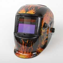 ATE Pro Tools 41116 Flames Design Welding Helmet