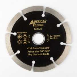 ATE Pro Tools 33025 4-Inch Diamond Dry Cutting Blade