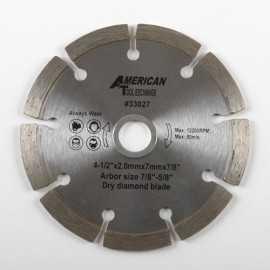ATE Pro Tools 33027 4-1/2-Inch Diamond Dry Cutting Blade