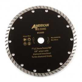 ATE Pro Tools 33050 7-Inch Diamond Turbo Blade