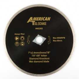 ATE Pro Tools 40265 7-Inch Diamond Wet Blade