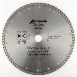 ATE Pro Tools 90314 10-Inch Diamond Turbo Saw Blade