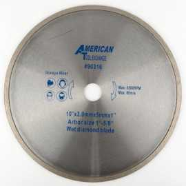 ATE Pro Tools 90316 10-Inch Diamond Wet Saw Blade