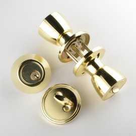 ATE Pro Tools 42012 Entrance Lock With Single Deadbolt 2-Piece