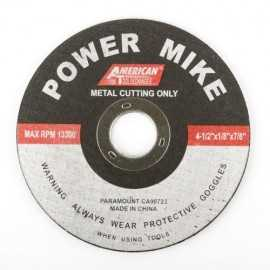 ATE Pro Tools 40151 4-1/2-Inch Cut Off Wheel