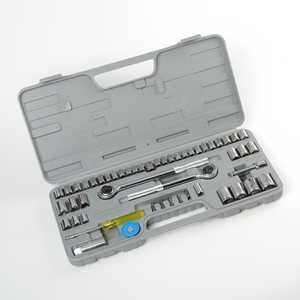 ATE Pro Tools 50065 Combination Socket Set 52-Piece