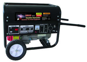 ATE Pro Tools 97905 Gasoline Generator With Pull Start And Wheel Kit 3500w