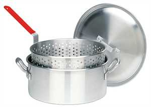 Barbour Int'l 1350 14-Quart Aluminum Deep Fryer