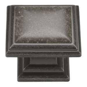 Hickory Hardware HH74639-BNV 1-5/16-Inch Black Nickel Vibed Sommerset Cabinet Knob
