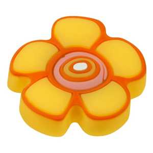 Hickory Hardware HH74653-ZZ Kid's Yellow Flower Cabinet Knob