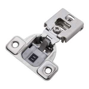 Hickory Hardware HH74716-14 1/2-Inch Bright Nickel Soft Close Overlay Face Frame Hinge