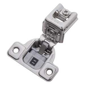 Hickory Hardware HH74718-14 Soft Close 1-1/4-Inch Overlay Face Frame Hinge Bright Nickel