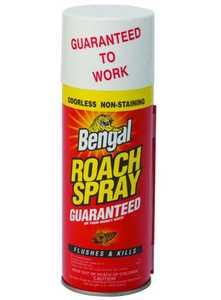 Bengal Products Inc 92465 Bengal Roach Spray 9 oz