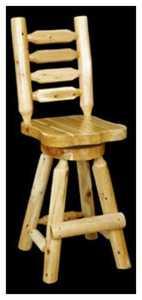 Best Craft Furniture 117 Swivel Barstool 24 in