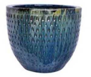 Michael Carr Designs 2704B 16-Inch Round Skyfall Style C Decorative Planter