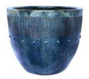 Michael Carr Designs 2708D 10-Inch Round Skyfall Style A Decorative Planter