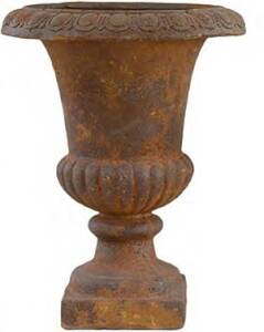 BFG Supply, LLC 200020ARUST Michael Carr Designs Liconfiber Tall Traditional Urn Planter In Rust 19 in