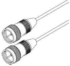 Blackpoint BV142GOLD 6-Foot F-F Mini Coaxial Python