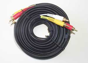 Blackpoint BA-126_GOLD 25-Foot Dubbing Stereo Cable