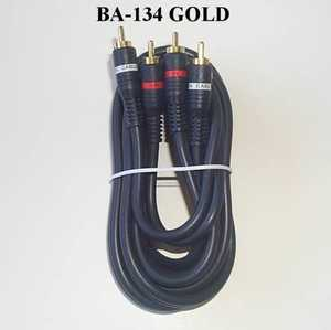 Blackpoint BA-137 GOLD Python Cable 3 - Rca 6 ft