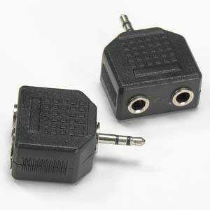 Blackpoint BA-155 2.5mm Stereo Plug – Dual 3.5mm