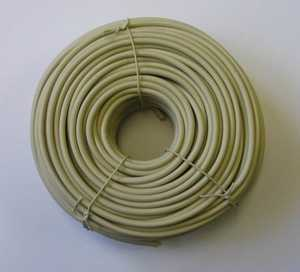 Blackpoint BT-049 IVORY 100-Foot Ivory Round Line Wire