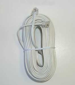 Blackpoint BT-052 WHITE 50-Foot White Modular Line Cord