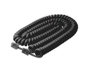 Blackpoint BT-083 BLACK 7-Foot Black Coiled Cord Handset