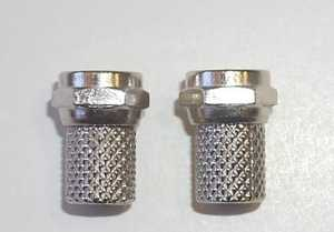 Blackpoint BV-002 HD Rg-6 Twist-On F Connector 2-Pack