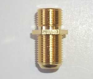 Blackpoint BV-004GOLD Female Double F Jack