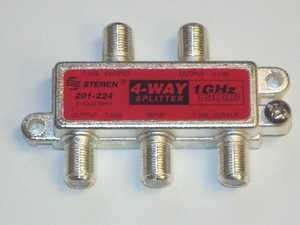 Blackpoint BV-139 Four-Way 1Ghz 130Db Digital Splitter