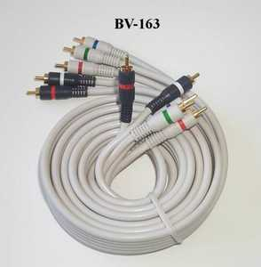 Blackpoint BV-163 6-Foot Component Video/Audio Cable