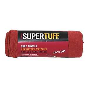 Trimaco 3290707 Red Shop Towels 12Pack
