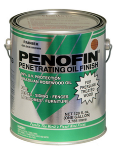 Penofin F3 Pt RGA Penofin For Pressure Treated Wood In Rainier 1 Gal