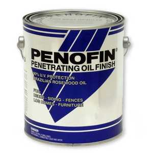 Penofin F5ENMGA Transparent Original Blue Label Penofin 550 Voc Exterior Wood Stain in Nantucket Mist 1 Gal