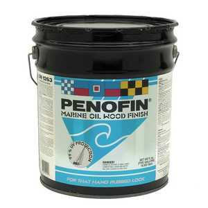 Penofin F5EMA5G Marine Oil Finish Penofin Exterior Wood Stain in Transparent Natural 5 Gal