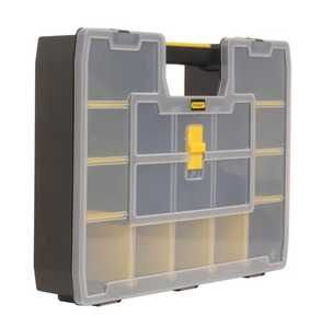 Stanley Tools 014026R Black And Yellow Sortmaster Organizer