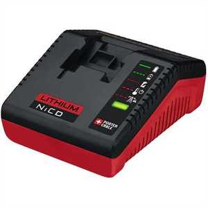 Porter-Cable PCXMVC Multi Chemistry Lithium Battery Charger 30/60 Minutes