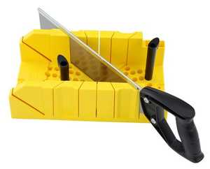 Stanley Tools 20-600 Mitre Box Clamping W/Saw